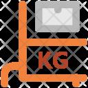 Platform Scale Weight Icon