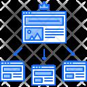 Platform hierarchy Icon