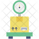 Platform Scale Logistics Icon
