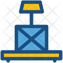 Platform Scale Weight Icon