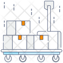 Cart Luggage Cart Luggage Trolley Icon