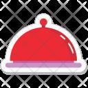 Platter Serving Food Icon
