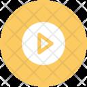 Play Button Film Icon