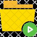Play Clip Folder Icon