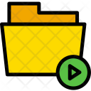 Play Media Folder Icon