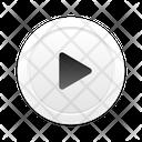 Play Skeuomorph Sound Icon