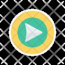 Play Button Video Icon