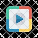 Play Stream Video Icon