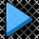 Play Arrow Play Button Arrowhead Icon