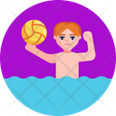 Swimming Pool Games Ball Game Icon