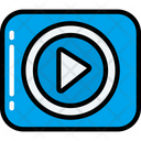 Play Button Video Movie Icon