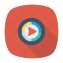 Button Video Music Icon
