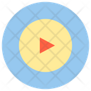 Entertainment Music Play Button Icon