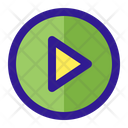 Play Button Game Icon