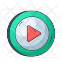 Play Button Stop Button Pause Button Icon