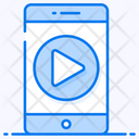 Play Button Mobile Video Online Video Icon