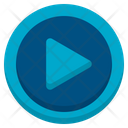 Play Media Player User Interface Icon