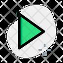 Play Button Media Button Play Icon