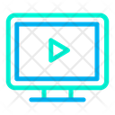 Play Computer Icon