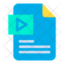 Play File Play Media File File Icon
