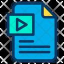 Play Document Icon