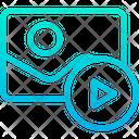 Play Media Image Video Icon