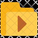 Play Folder Data Icon