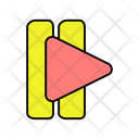 Play Forward Arrow Directional Arrow Navigational Arrow Icon