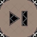 Play Forward Button Square Icon