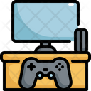 Game Console Joysticks Icon