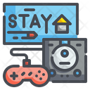 Play Game Joystick Multimedia Icon
