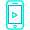 Play Media Phone Mobile Icon