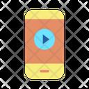 Video Play Mobilem Play Mobile Video Mobile Video Icon