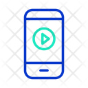 Play Mobile Video Icon