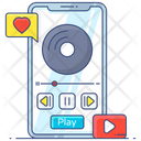 Portable Music Player Play Music Music Player Icon