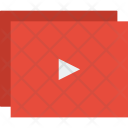 Play Playlist Video Icon