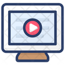 Viral Video Popular Video Video Marketing Icon