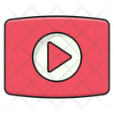 Video Play Cinema Icon