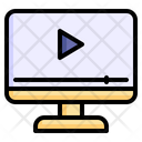 Play Video Online Video Video Streaming Icon