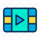 Video Layer Media Multimedia Icon