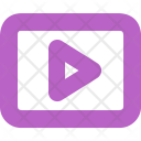 Play Video Music Icon