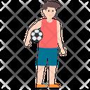 Player Sportsman Soccer Player Icon