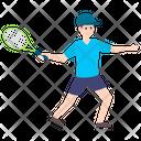 Player Sportswoman Tennis Player Icon