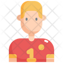 Player Soccer Football Icon