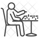 Player Play Chess Icon