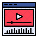 Player Video Player Music Icon
