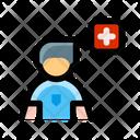Soccer Football Injury Icon