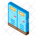 Room White Locker Icon