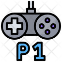 Player One Player Friend Icon