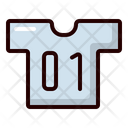 Soccer Shirt Player Shirt Team Uniform Icon